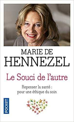 Marie de Hennezel, psychologue clinicienne s'attaque à l'enjeu véritable : redonner au patient son humanité.
